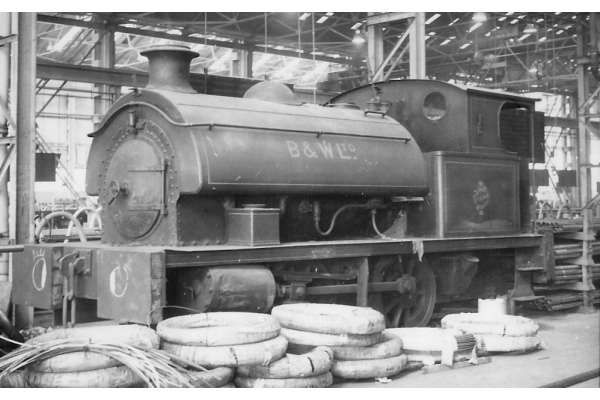 0-4-0ST Babcock & Wilcox 'Sir John King' locomotive picture