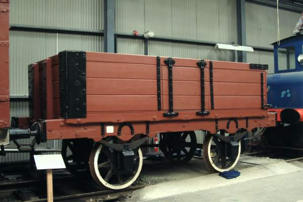 Mineral Wagon, Carron Company No.755, dumb buffers