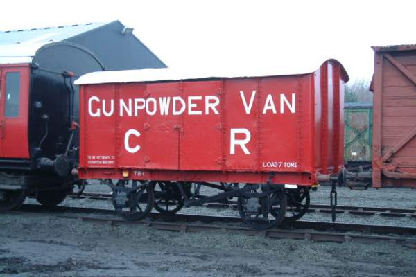 7 ton Gunpowder Van, Caledonian Railway No.57