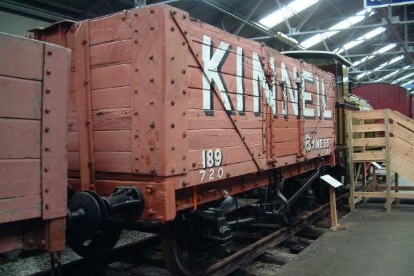 12 ton RCH 7-plank Mineral Wagon No.189 (original number unknown)