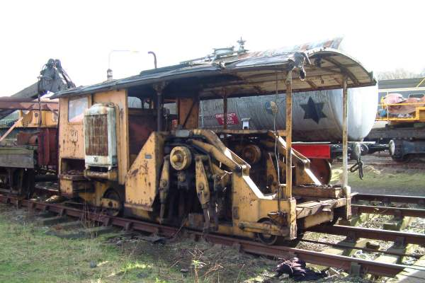 Ballast Tamping Machine British Railways No.48626