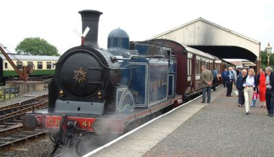 CR No.419 at Bo'ness Station