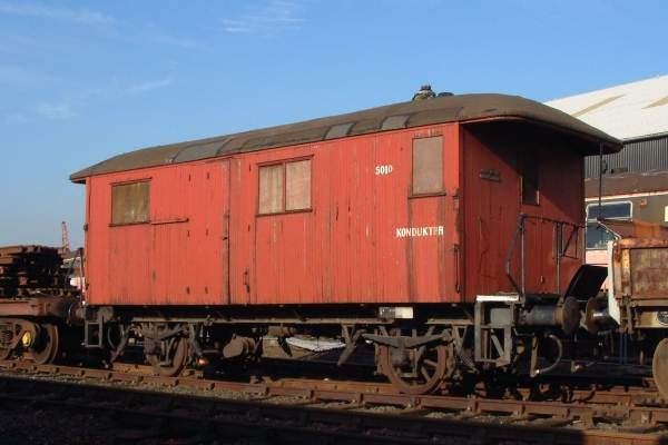 Norges Statsbane 4-wheel Full Brake coach No.5010